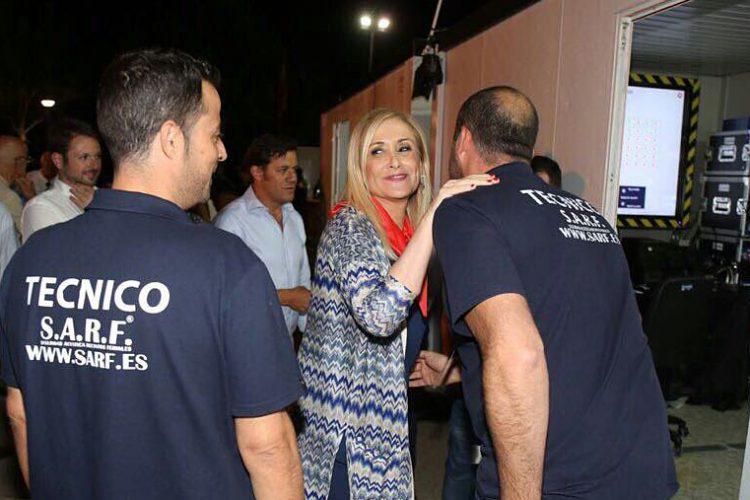Cristina Cifuentes nos visita en Alcalá.