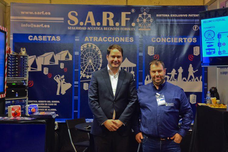 El Alcalde de Torrejón con S.A.R.F.® en SICUR 2018.