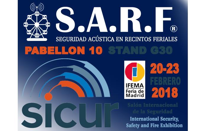 Presentando S.A.R.F.® en SICUR 2018